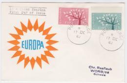 Ireland 1962 FDC Europa CEPT (G99-29) - Europa-CEPT