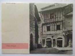(1960) PEROUGES - Atelier Du Tisserand   - Coupure De Presse Originale (Encart Photo) - Documents Historiques