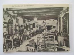 (1960) PEROUGES - Intérieur Ostellerie    - Coupure De Presse Originale (Encart Photo) - Documents Historiques