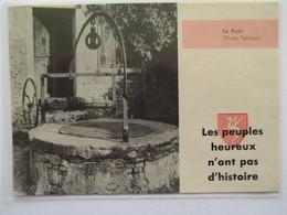 (1960) Cité De PEROUGES - Le Puit - Coupure De Presse Originale (Encart Photo) - Documents Historiques