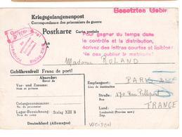 18436 - STALAG  XIII B WEIDEN - Marcophilie (Lettres)