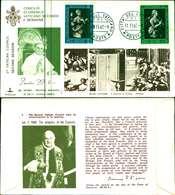 12102a)F.D.C.serie Concilio Ecumenico Vaticano II- 11-11-63 SESSIONE II-PAOLO VI - FDC