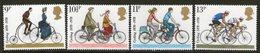 GREAT BRITAIN, 1978 CYCLING 4 MNH - Neufs