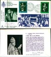 12104a)F.D.C.serie Concilio Ecumenico Vaticano II- 29-10-63 SESSIONE II-PAOLO VI - FDC