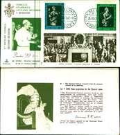 12105a)F.D.C.serie Concilio Ecumenico Vaticano II- 25-10-63 SESSIONE II-PAOLO VI - FDC