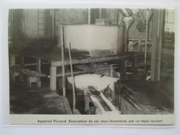 (1960) Mine De Sel De BEVIEUX BEX - L Essoreuse Piccard  - Coupure De Presse Originale (Encart Photo) - Documents Historiques