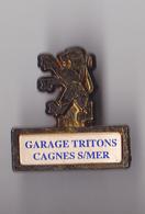 PIN'S THEME AUTOMOBILE  PEUGEOT  GARAGE  TRITTONS - Peugeot