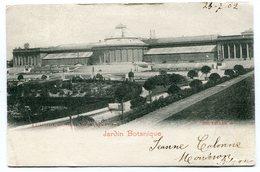 CPA - Carte Postale - Belgique - Bruxelles - Jardin Botanique - 1902  (B8878) - Forêts, Parcs, Jardins