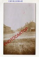 URVILLERS-CARTE PHOTO Allemande-Guerre 14-18-1WK-France-02- - Autres Communes