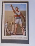 AV114.8 Jeux Olympiques Olympia 1932 Olympic Games Los Angeles - Athletics- Hans Sievert Decathlon Three Throws - Athlétisme