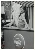 Photo Originale Cirque Publicité Coca Cola 10x7,5 Cm Réf 1840 - Advertising