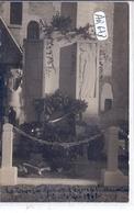 CHAVIGNON- CARTE-PHOTO- INAUGURATION DU MONUMENT AUX MORTS- 1 OCTOBRE 1933 - Altri Comuni