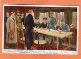 CPA * * COMPIEGNE * * Signature De L' Armistice, 11 Novembre 1918 - Compiegne