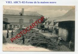 VIEL ARCY-Ferme De La Maison Neuve-1909-Agriculture-France-02- - Autres Communes