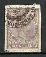 ITALIA ITALY O 1888 Revenue Tax Fiscal Marca Da Bollo Umberto I O - Fiscales