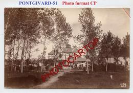 PONTGIVARD-PHOTO Allemande Mate-Format CP-GUERRE 14-18-1WK-France-51- - Frankrijk