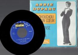 Annie Duparc : Le Chouchou De Mon Coeur + Je Pense à Toi (Vedette) - Disco, Pop