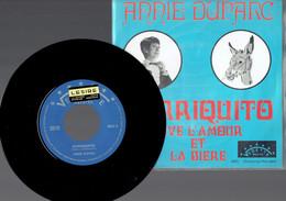 Annie Duparc : Borriquito + Vive L'amour Et La Bière (Vedette) - Disco, Pop
