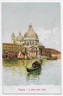 Venezia - Santa Maria Della Salute - Retro Indiviso - Editore Gobbato - Venezia (Venice)