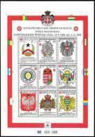 1992 - BF 37 Convenzioni - Sovrano Militare Ordine Di Malta