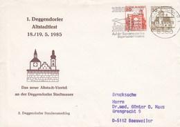 PU 249/4  1. Degendorfer Altstadtfest 1985 - Das Neue Altstadt Viertel, Degendorf 1 - BRD