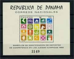 PANAMA 1969 Bl.103 Postfrisch (105075) - Panama