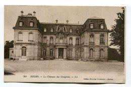 CPA 51 / REIMS   Château Des Crayères Façade  A  VOIR  !!!!!!! - Reims