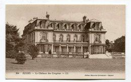 CPA 51 / REIMS   Château Des Crayères Façade Arrière  A  VOIR  !!!!!!! - Reims