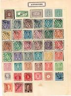 Lot Autriche Vieux Timbres à Identifierv - Collections (sans Albums)