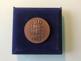 Médaille Ville De L'AIGLE Département 61 - Obj. 'Souvenir De'