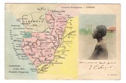 CONGO - Carte - Congo - Brazzaville