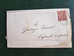 (41141) STORIA POSTALE  ITALIA 1891 - 1878-00 Umberto I