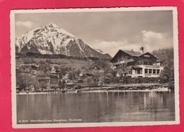 Modern Post Card Of Hotel And Restaurant Standweg,Faulensee,Bern, Switzerland,L60. - BE Berne