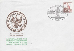 PU 250/37a  5. Briefmarken- Und Münzen-Tauschbörse 1982, Olpe,Biggesee 1 - BRD