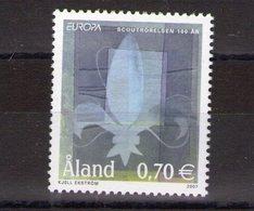 Aland. Europa 2007. Centenaire Du Scoutisme - Aland