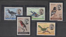 Ethiopie 1962 Oiseaux Série 388-92 5 Val * Charnière - Ethiopie