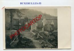 BUXERULLES-Cimetiere-Tombes Allemandes-CARTE PHOTO Allemande-Guerre 14-18-1WK-France-55- - France