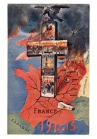 MILITARIA - Carte Allégorique - Patriotic
