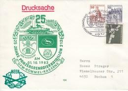PU 258/3  25 Jahre Panzergrenadierbataillon 212 - GFM-Rommel Kaserne, Augustdorf - BRD