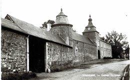 TONGRINNE   Le Château Haneteau  Carte Photo. - Sombreffe