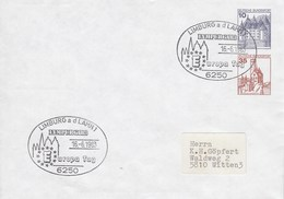 PU 259/1  Blanko Umschlag Mi 10+35 Pf Burgen Und Schösser, Limburg A D Lahn 1 - BRD