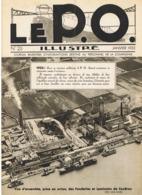 """Revue Du Personnel SNCF, Train, Cheminot - Orléans - Midi  """" Le PO"""" 1933 N°25 Articles, Voir Descriptif (fr61) - Livres, BD, Revues"""