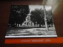 FOTO ANDERSON -ROMA-VILLA PAMPHILI -PALAZZINA CON LA PORTA D'INGRESSO-25X20 CIRCA - Luoghi