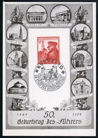 AK/CP Propaganda  Hitler Nazi    Ungel/uncirc.1939   Erhaltung/Cond. 2  Nr. 00775 - Guerra 1939-45