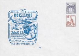 PU 259/3**  25 Jahre 1958-1983 JaboG 32 8933 Klosterlechfeld -Fuegenhorst Lechfeld - Privé Briefomslagen - Ongebruikt