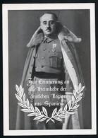 AK/CP Propaganda  Franco  Legion Condor  Spanien    Ungel/uncirc.1933-45   Erhaltung/Cond. 2  Nr. 00777 - Guerre 1939-45