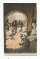 Cp , ALGERIE ,scénes Et Types ,  Un FONDOUCK , Vierge , Ed.LL ,  N° 6127 - Szenen