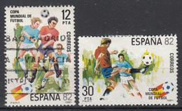 SPANJE - Michel - 1981 - Nr 2496/97 - Gest/Obl/Us + (*) - 1931-Aujourd'hui: II. République - ....Juan Carlos I