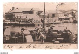 CPA ANTILLES SAINTE LUCIE ABANDONED GARRISON SHIPMENT OF MILITARY STORES TRES RARE BELLE CARTE !! - Sainte-Lucie