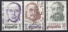 SPANJE - Michel - 1981 - Nr 2501/03 - Gest/Obl/Us - 1931-Aujourd'hui: II. République - ....Juan Carlos I